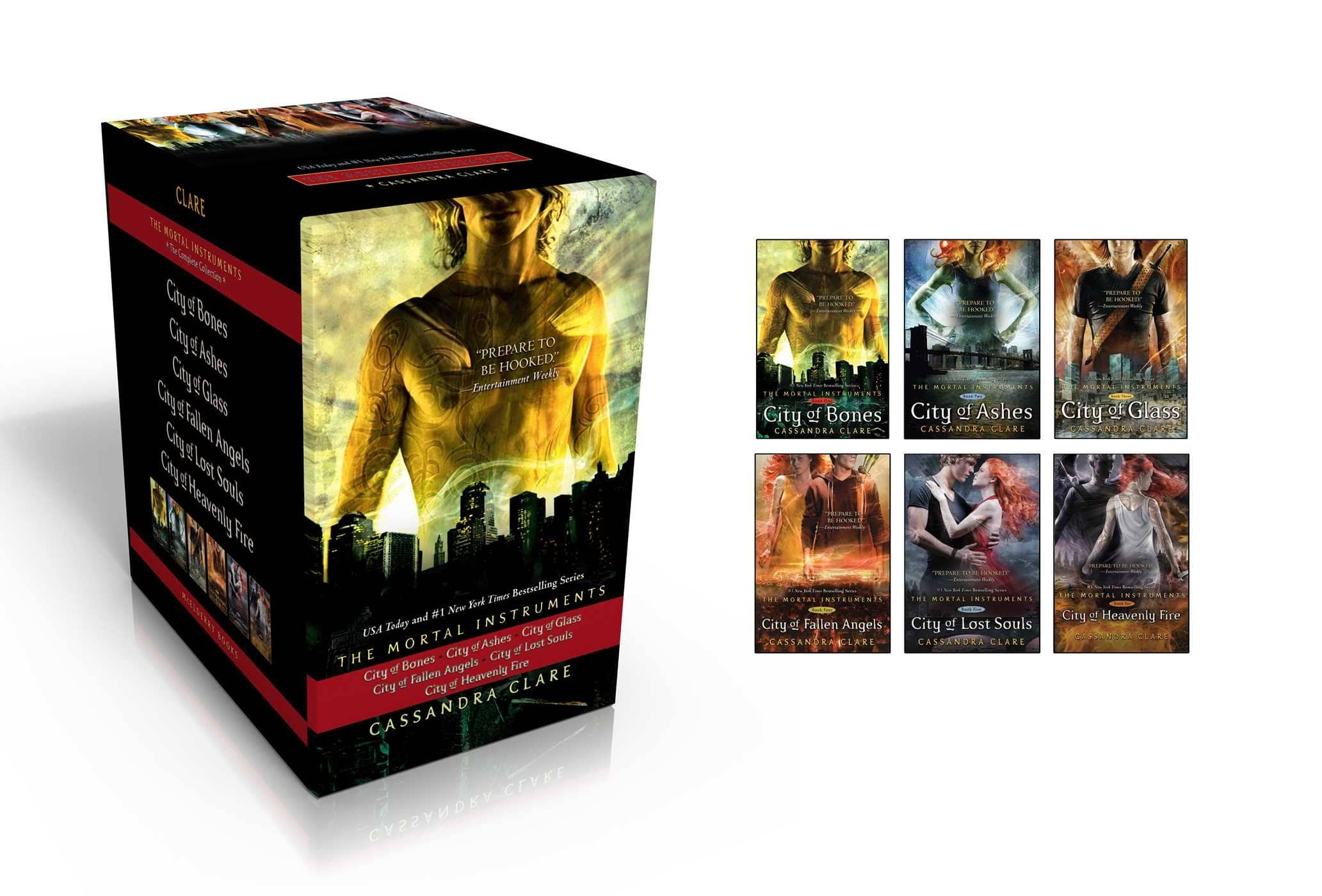 The Mortal Instruments Complete Collection (6 Hardcover Books) $46