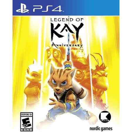 Legend of Kay Anniversary (HD) PS4 $10.63 + Free Store Pickup
