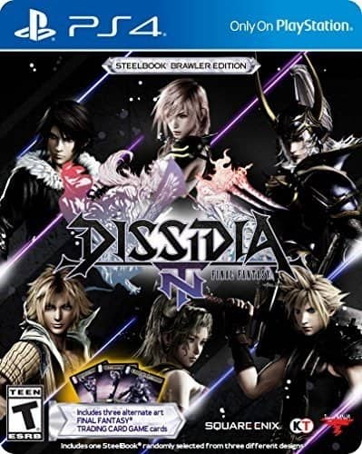 Final Fantasy Dissidia Steelbook or Standard for Playstation 4 $19.99