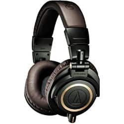 Audio-Technica ATH-M50xDG Headphones and Blue Microphone Yeti USB Mic Bundle $179.99