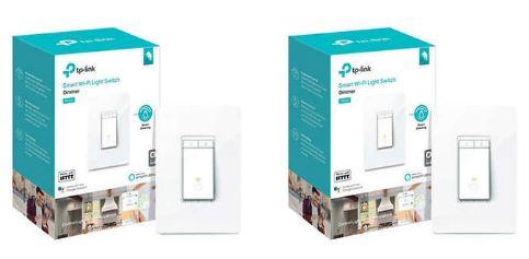 TP-Link (HS220) Kasa Smart Dimmer WiFi Light Switch, 2-Pack $49.99+tax @costco.com
