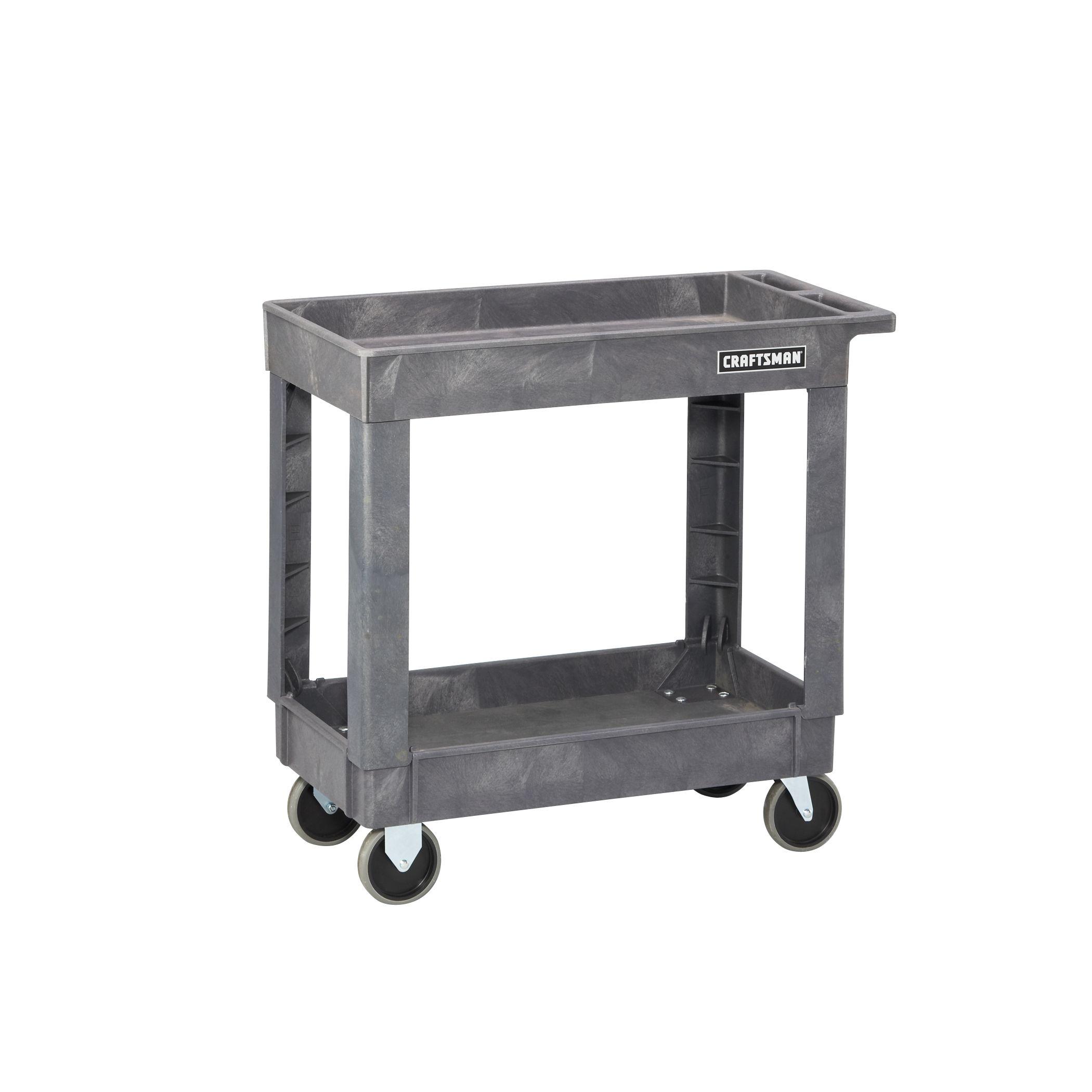 Sears - Craftsman 2-Shelf Heavy-Duty Utility Cart - $67.66 + free shipping or store-pickup