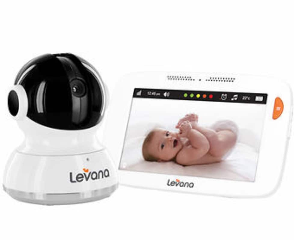 "LEVANA Mylo 5"" Touchscreen Baby Monitor - $99.99 @ Costco"