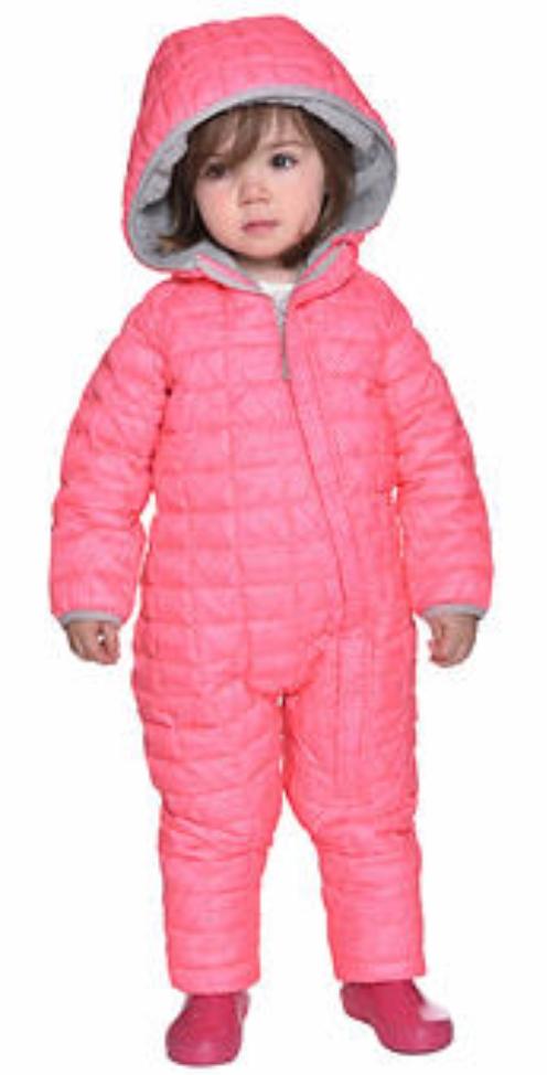 Snozu Infant Snowsuit, Pink - $12.97 @Costco Wholesale