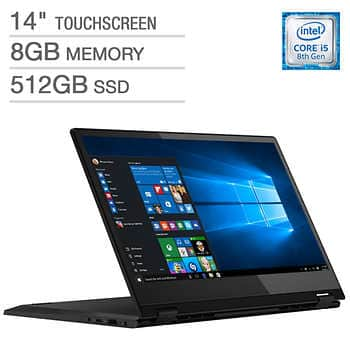 Lenovo Flex 14 2-in-1 Touchscreen Laptop - Intel Core i5 - 1080p - $510 @costco