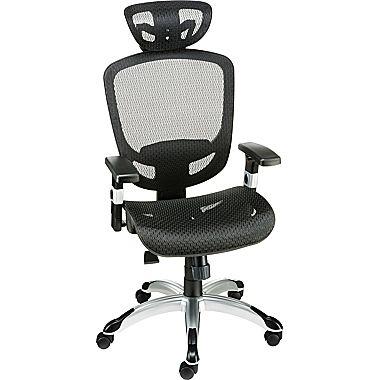 Staples Hyken Technical Mesh Task Chair(black or red) $119.99