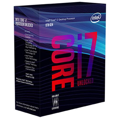 Intel Core i7-8700K Coffee Lake 3.7 GHz LGA 1151 Boxed Processor $379.99 (tax NY/NJ) free ship