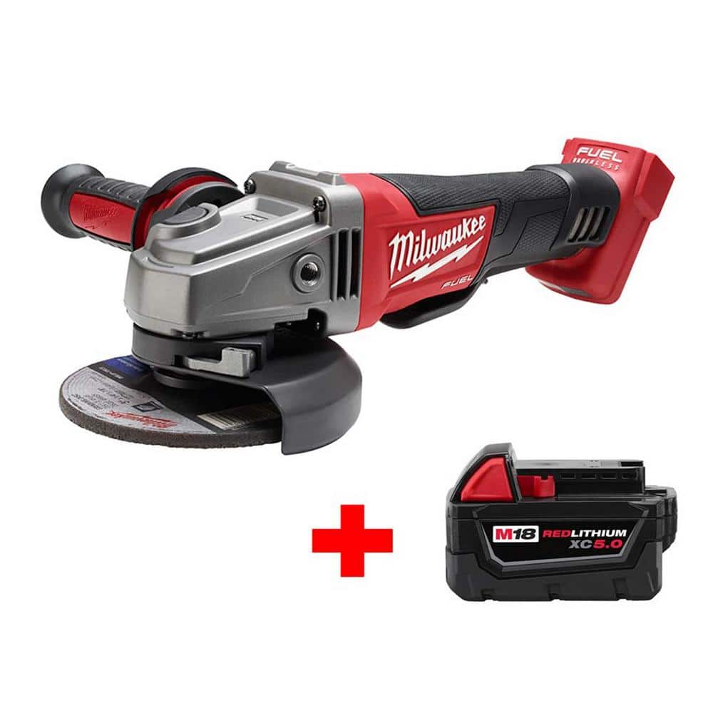 M18 FUEL Grinder with free 5Ah Battery - $179 at Home Depot