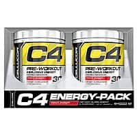 Cellucor C4 Pre-Workout Fruit Punch, 2-pack- $  31.99