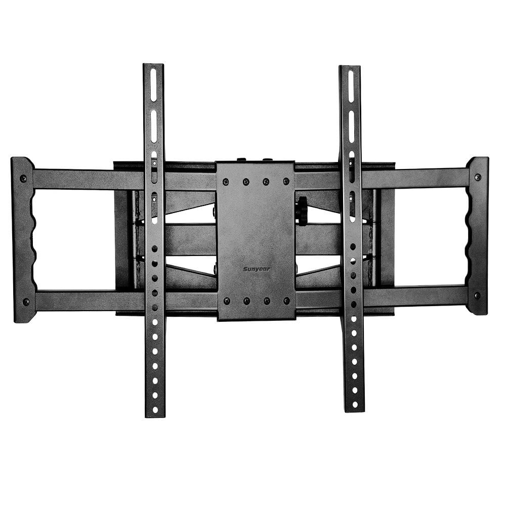 sunyear heavy duty full motion swivel dual articulating arms tv wall mount for on amazon. Black Bedroom Furniture Sets. Home Design Ideas