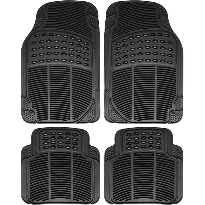 4-Piece OxGord Heavy Duty All Weather Universal Floor Mats for $16.99 w/ free shipping on Tanga