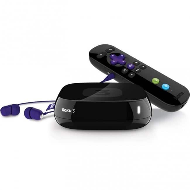 Roku 3 1080p HD Video Streaming Media Player for $39.99 w/ free shipping on iTechdeals