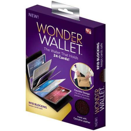 Wonder Wallet As Seen On TV on sale in store at Walmart for $2
