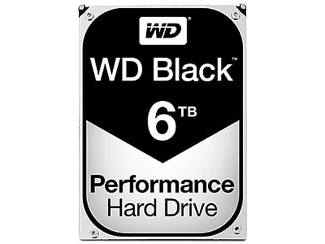 WD Black 6TB Performance Desktop Hard Disk Drive - 7200 RPM SATA 6Gb/s 128MB Cache 3.5 Inch - WD6002FZWX for $239.99 + Free Shipping