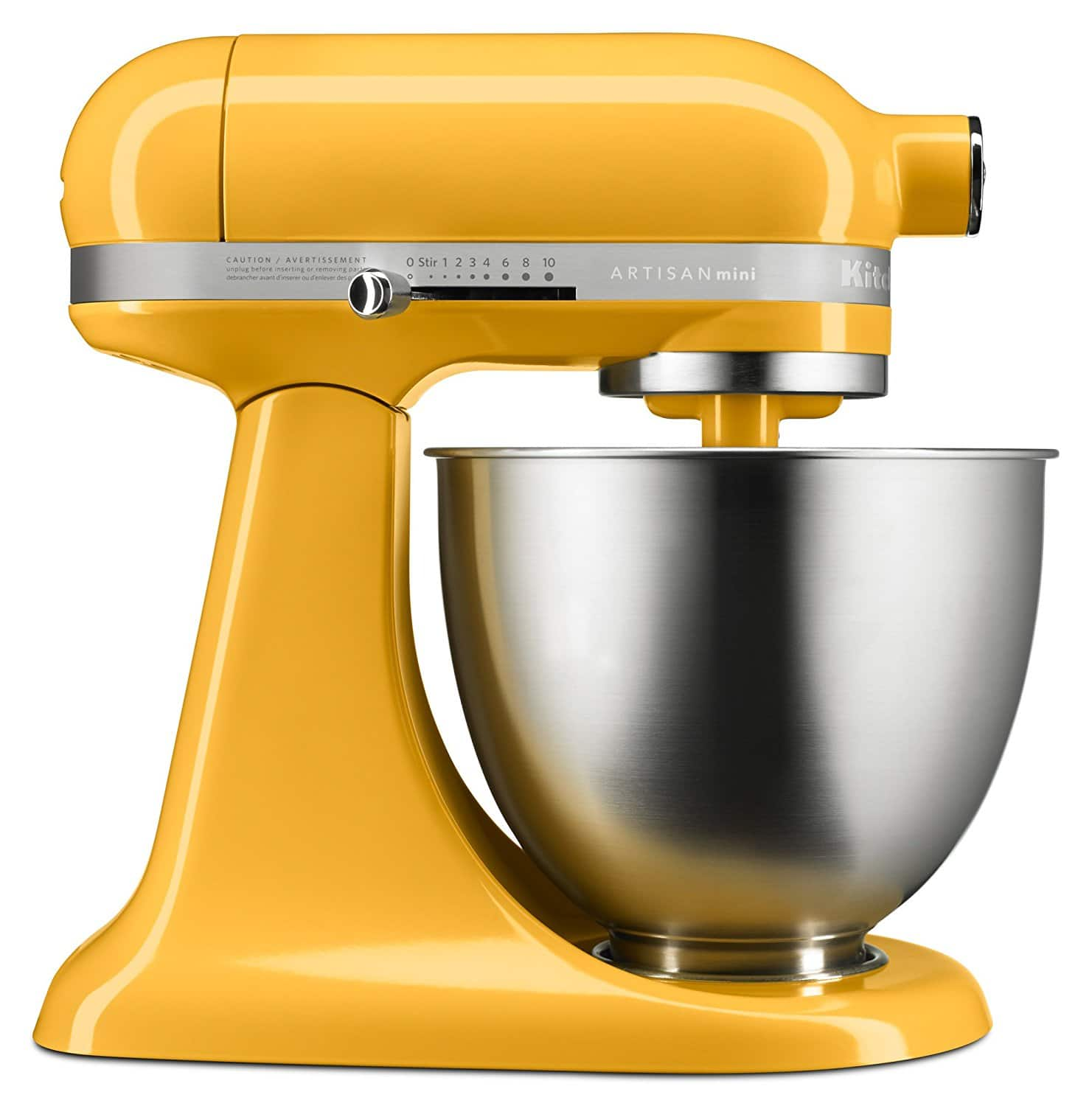 KitchenAid Artisan Mini Tilt-Head Stand Mixer, 3.5 qt. (Color: Orange Sorbet) $114.99 (After $60 MIR)