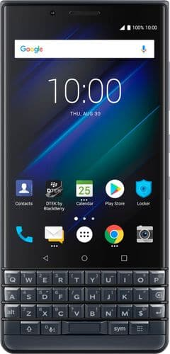 BlackBerry - KEY2 LE with 64GB Memory Cell Phone (Unlocked) - Slate Gray @ BestBuy for $320