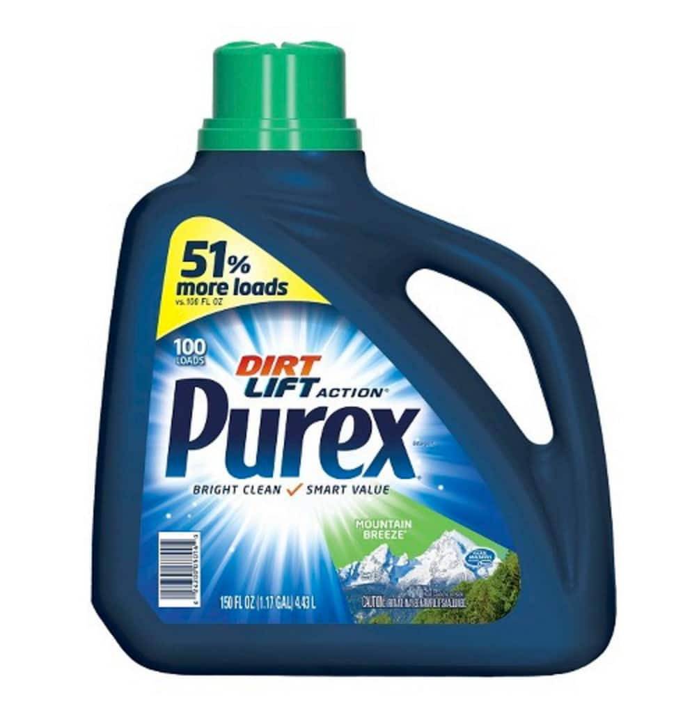 2 Purex 150oz Laundry Detergent + $5 GC for $9.58 @Target B&M