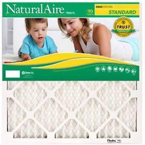 16x25x1, Naturalaire Standard Air Filter Merv 8, Pk 12 $42.37