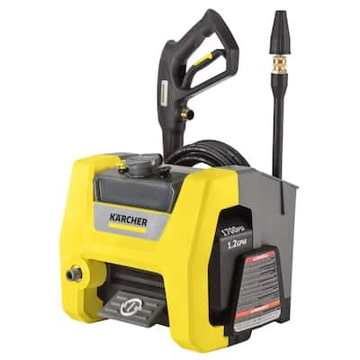 Karcher K1710 Cube 1700-PSI 1.2-GPM Cold Water Electric Pressure Washer for $103.99