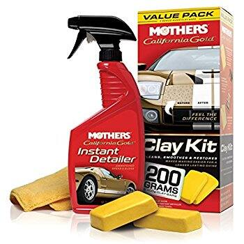 Mothers 07240 California Gold Clay Bar System $9.43 w/S&S @ Amazon.com
