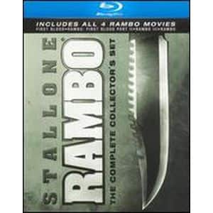 Rambo: The Complete Collector's Set [4 Discs] [Blu-ray](Bestbuy) $9.99