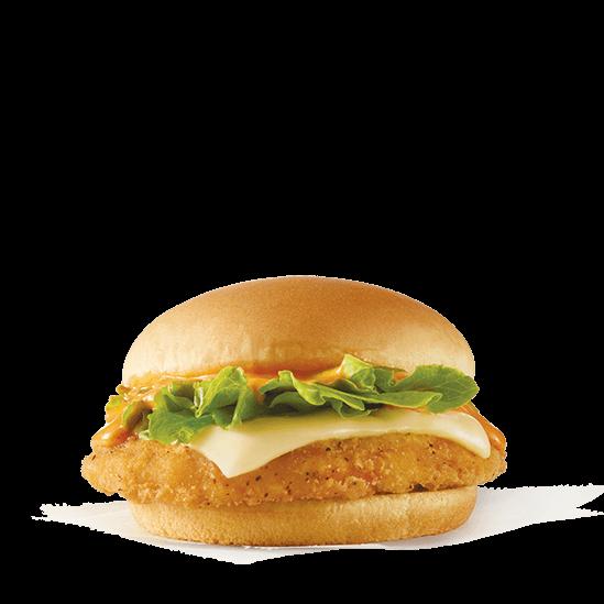 Wendy's new Buffalo Ranch Crispy Chicken Sandwich is only $1