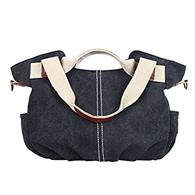 Eshow Women's Canvas Shoulder Bag Daily Purse Hobo Tote Save 50% $14.99