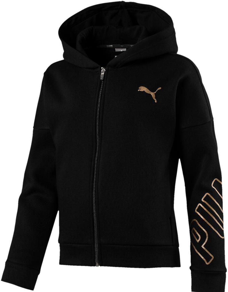 Puma Style Full-Zip Girls' Hoodie (2 Colors) $29.99 + fs