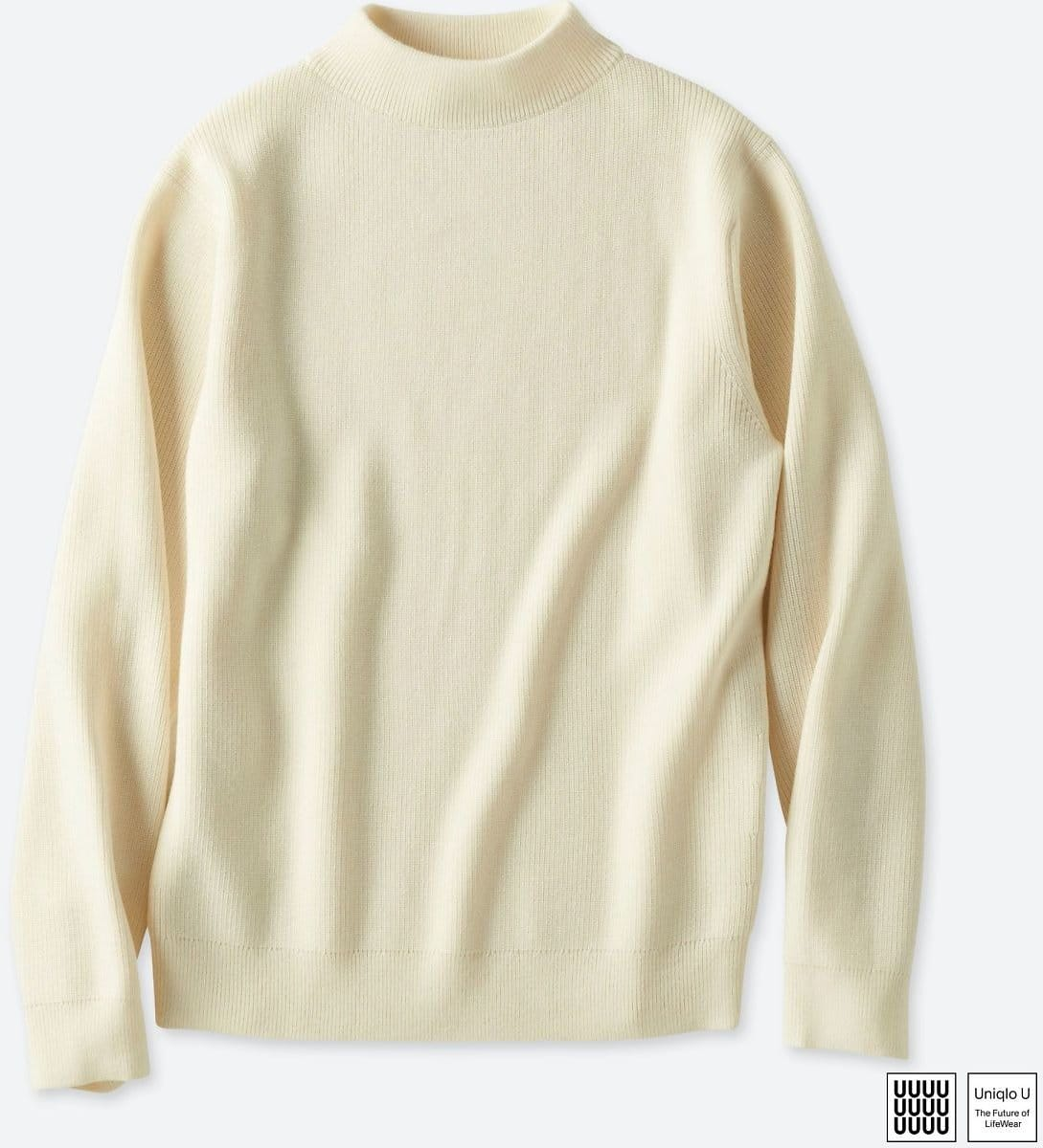 a8705e9362 Men U Merino-Blend High Neck Long-Sleeve Sweater  19.90 - Slickdeals.net