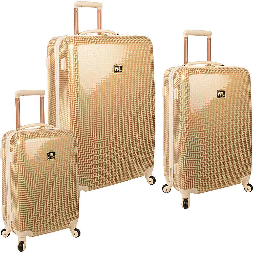 Anne Klein Luggage Manchester 3 Piece Hardside Set Luggage Set NEW $119.99 + fs