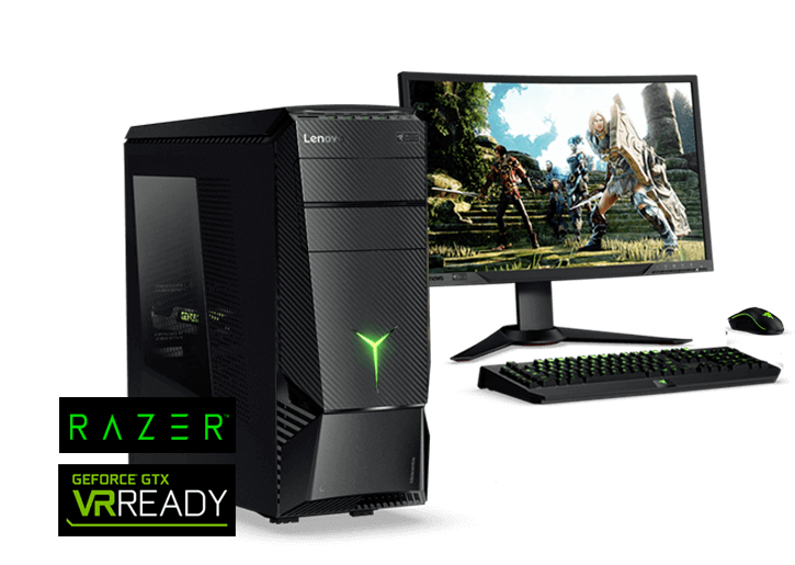 IdeaCentre Y900 RE (Razer Edition) GTX 1080/I7-6700K/16GB RAM/256 SSD + 2TB HDD/Razer Pro KB/Mouse/$1699