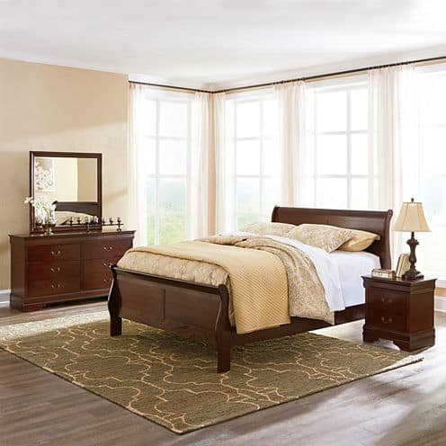 Signature Design by Ashley Rudolph Bedroom Set w/ Bonus Mattress ...