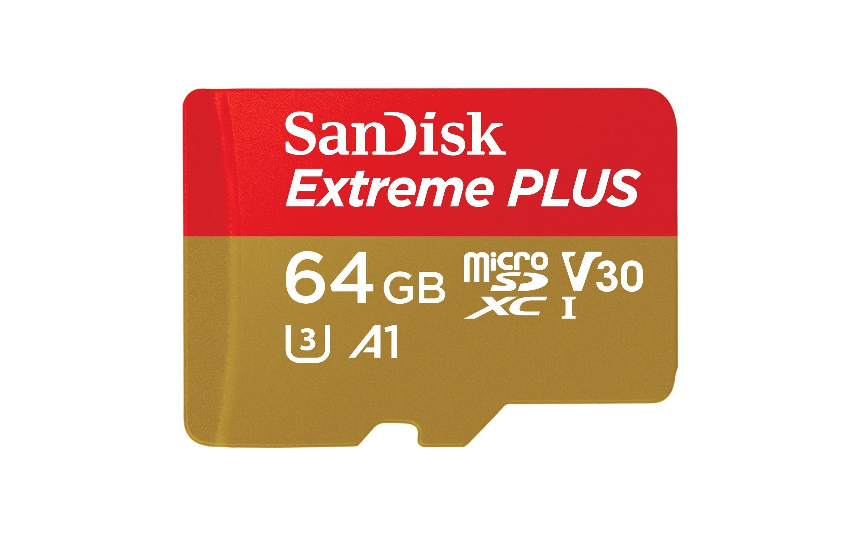 SanDisk 64GB Extreme Plus Memory Card $32.99