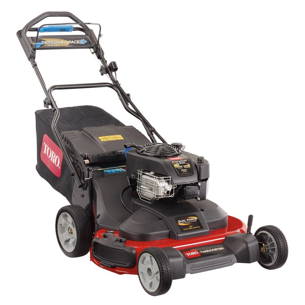 Toro Timemaster 30 inches lawn mower. In Home Depot YMMV $829