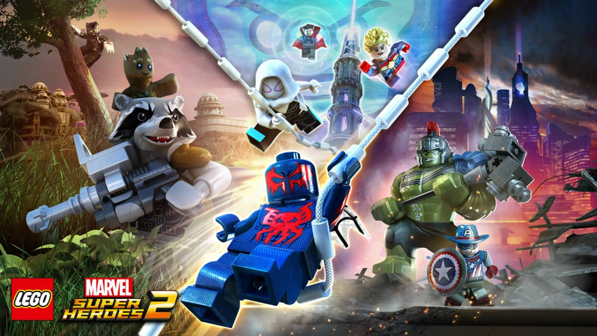 """(PC) Lego Marvel Super Heroes 2 - Deluxe ($12.36)  or Standard ($8.99) using code """"May10"""" at Fanatical"""