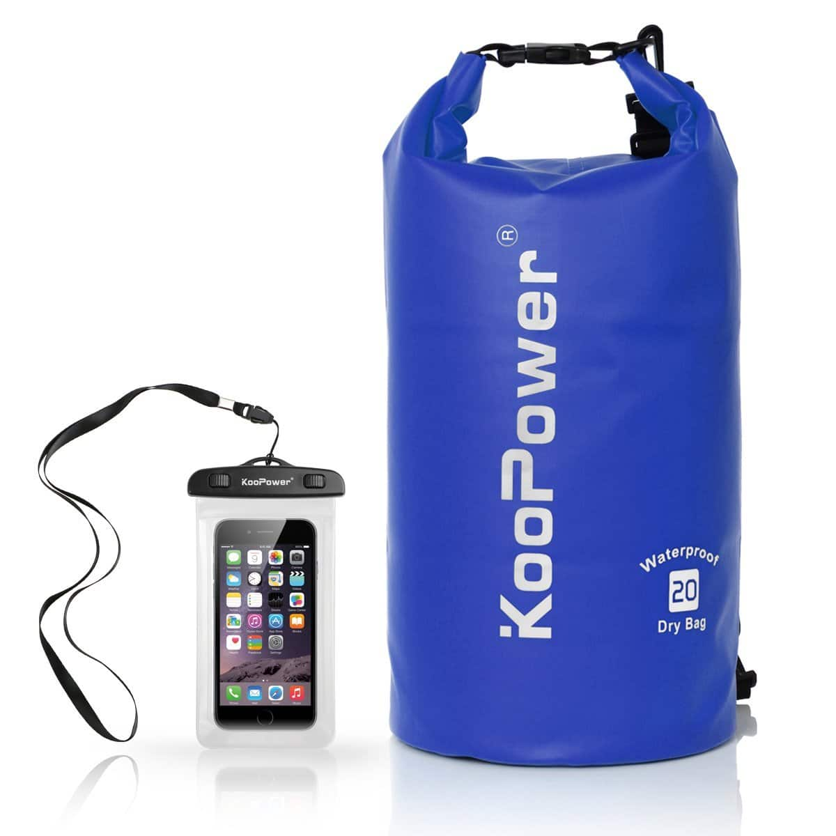 20L Waterproof Drybag - BLUE - for $3.89 after coupon: Z3H6Y3FF @Amazon