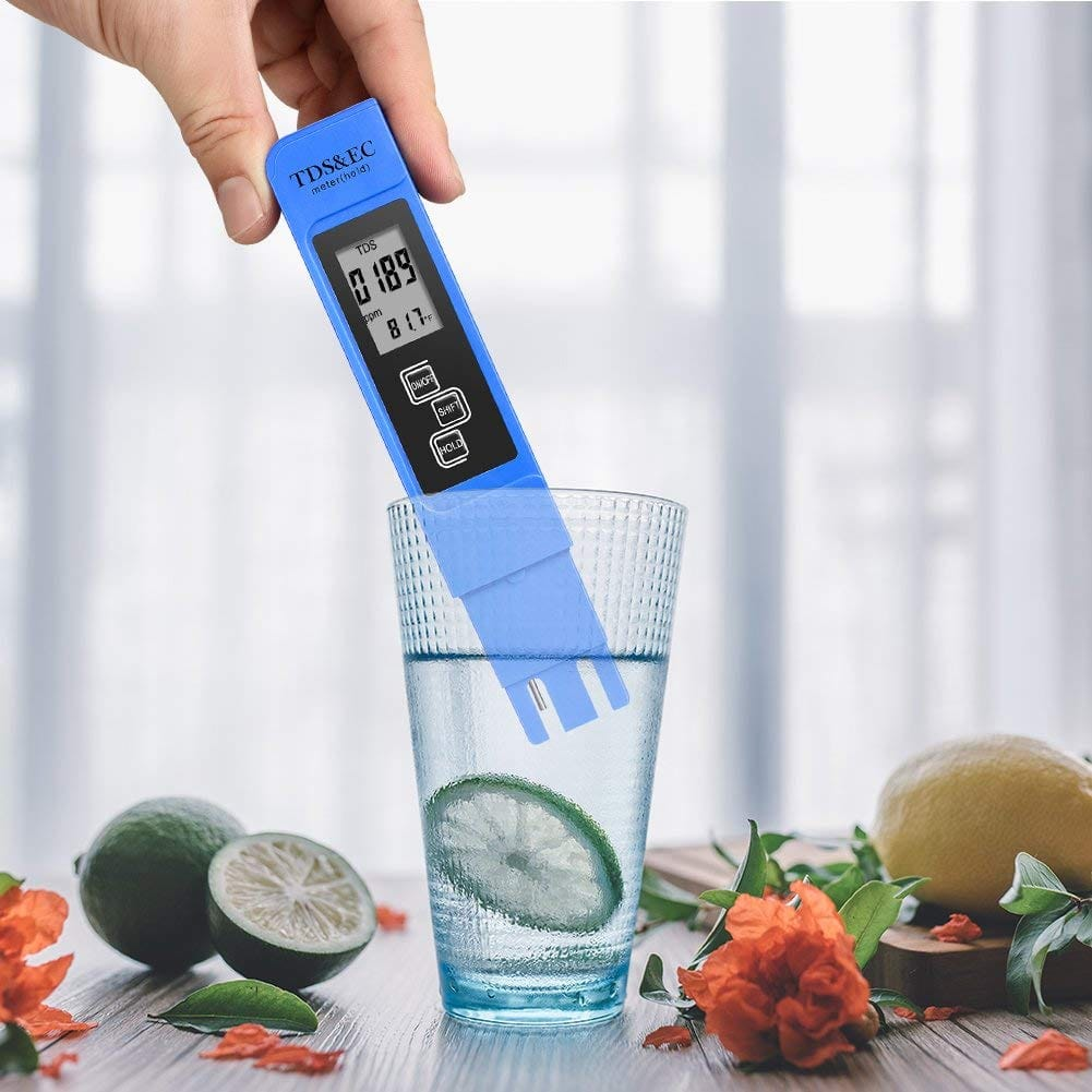 TDS Meter - 3-in-1 Digital Water Quality Tester at amazon for $6.59 after coupon: 9P5JGSQH