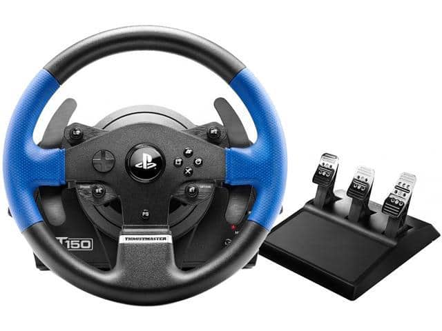 Thrustmaster T150 PRO Racing Wheel with T3PA Wide 3-Pedal Set - PS4/PS3/PC - $150 AC @ Newegg (FS with ShopRunner)
