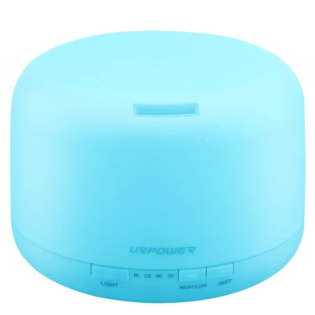 Aromatherapy Essential Oil Diffuser 7 Color Changing LED lamp Humidifier, Auto-shut off $18.19 + Free S&H