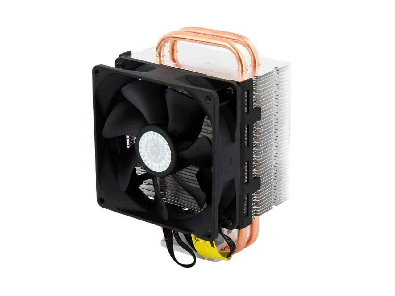 Cooler Master Hyper T2 - Compact CPU Cooler with Dual Looped Direct Contact Heatpipes $9.99 After Rebate