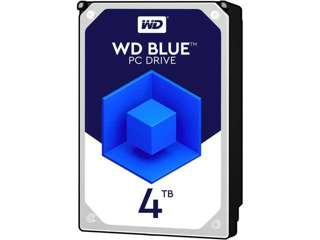 WD Blue 4TB Desktop Hard Disk Drive - 5400 RPM SATA 6Gb/s 64MB Cache 3.5 Inch - WD40EZRZ $99.99
