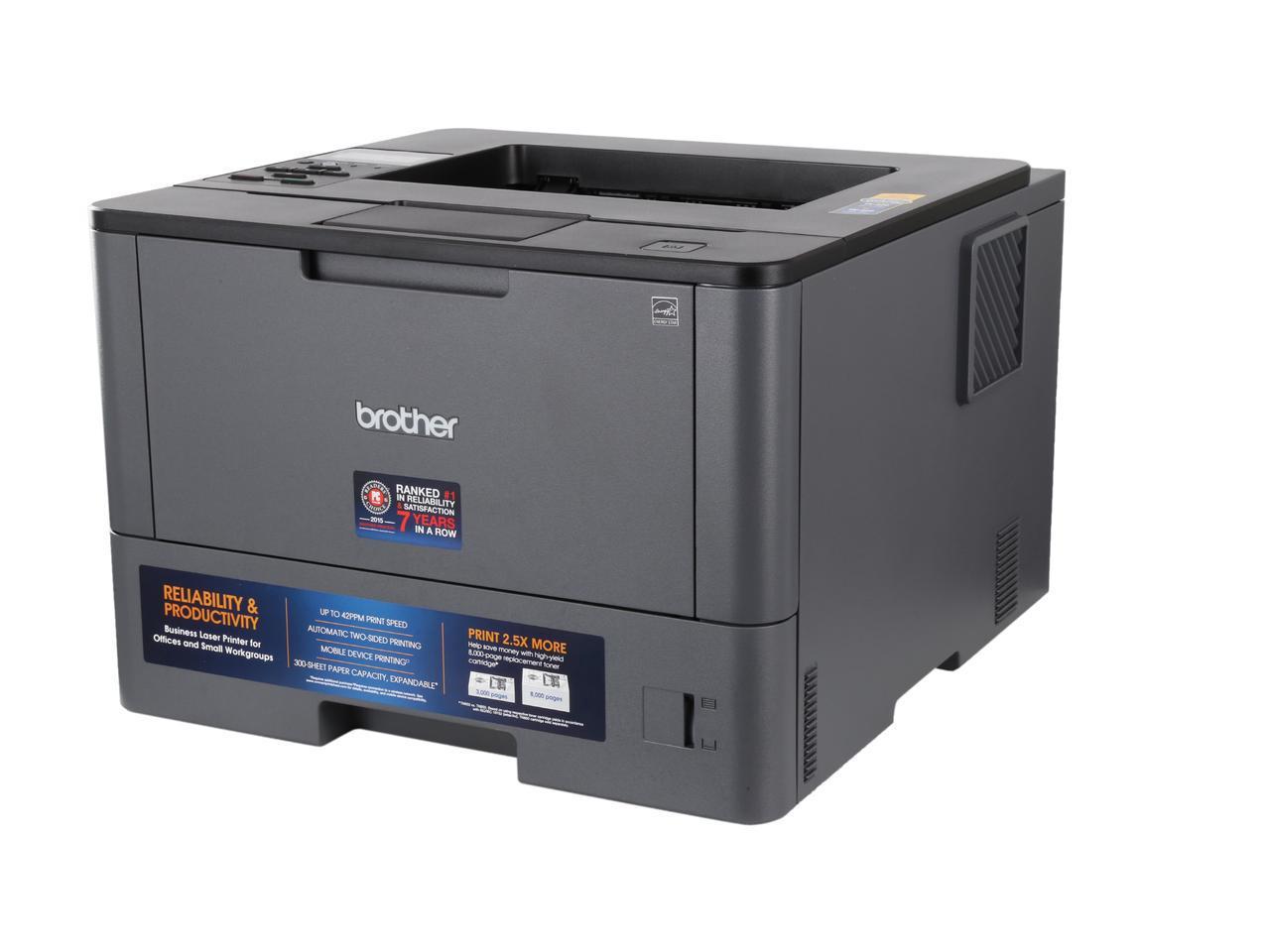 Brother HL-L5100DN Duplex 1200 x 1200 DPI USB Mono Laser Printer $119.99