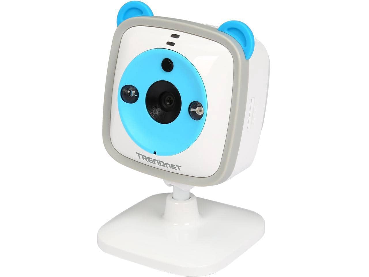 TRENDnet TV-IP745SIC Wi-Fi HD 720P Built-In Thermometer 2 Way Audio Baby Camera $22.99