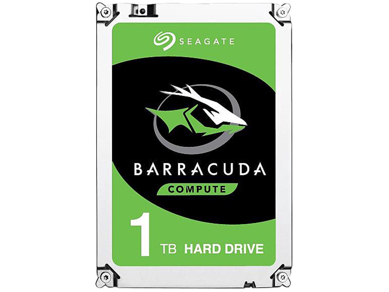"Seagate BarraCuda 1TB 64MB Cache 3.5"" Hard Drive Bare Drive $42.99"