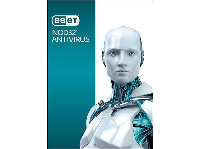 ESET NOD32 Antivirus 3 PCs + H&R BLOCK Tax Software Deluxe $25