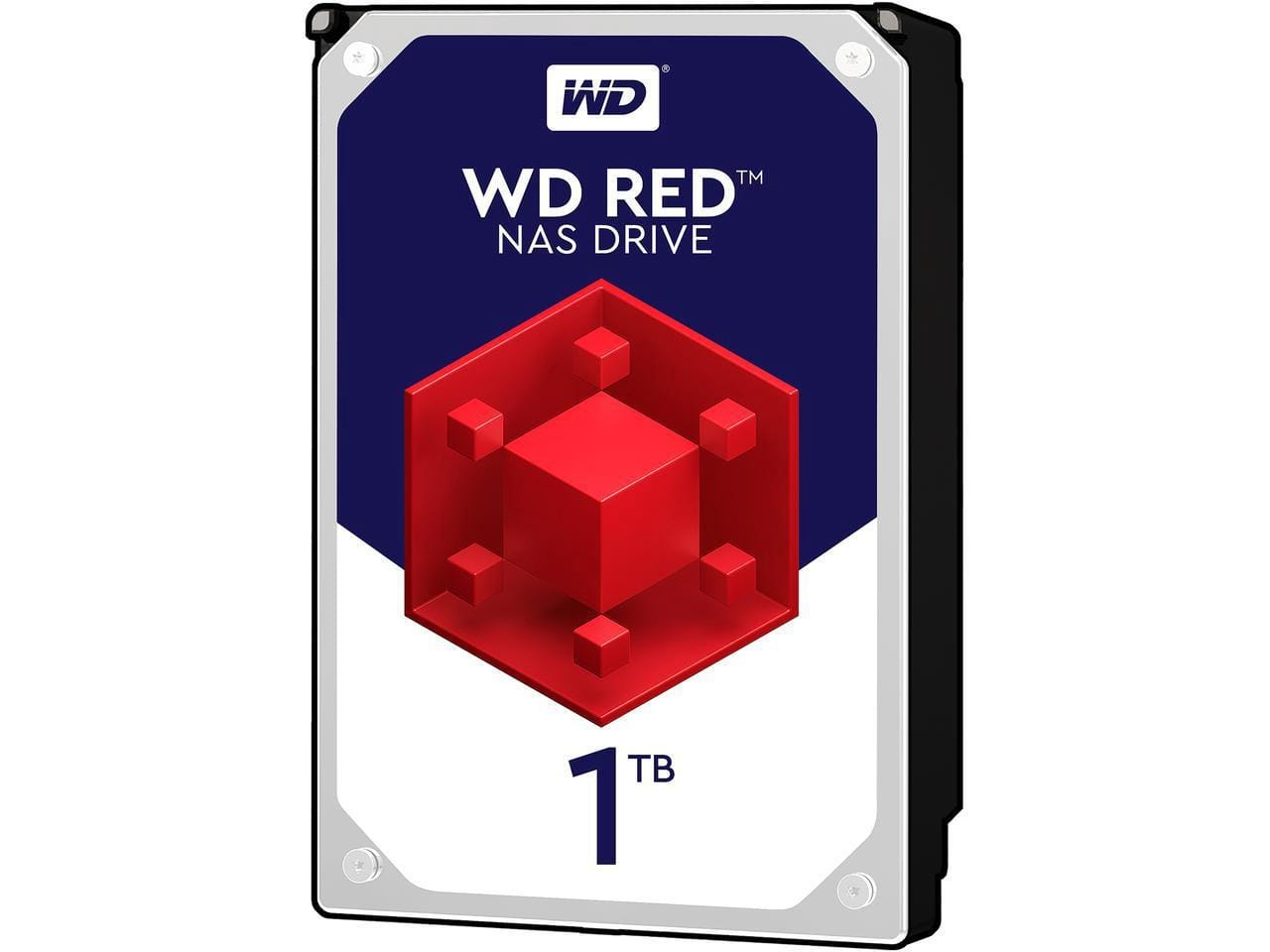 WD Red 1TB NAS Hard Disk Drive - 5400 RPM Class SATA 6Gb/s 64MB Cache 3.5 Inch $57.99