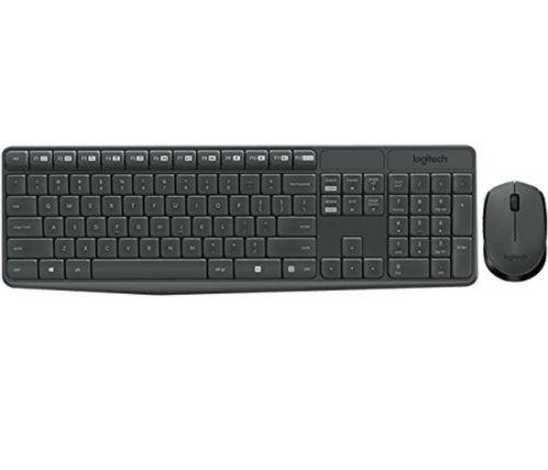 Logitech MK235 USB Wireless Optical Keyboard and Mouse Set $14.99 + free pickup