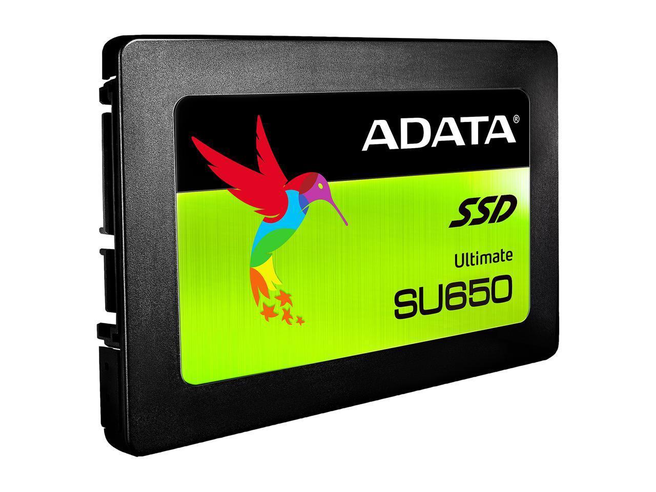 "ADATA Ultimate SU650 2.5"" 120GB 3D NAND (SSD) $28.99"