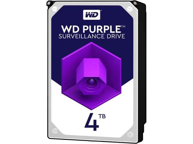 Western Digital 4TB Purple WD40PURZ Surveillance HDDs $114.99