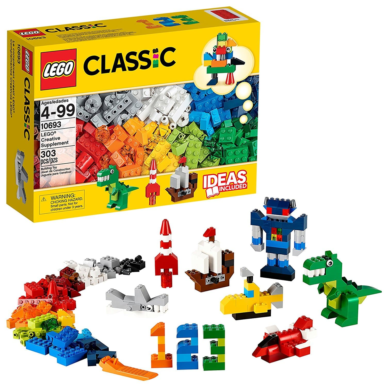 LEGO Classic Creative Supplement 10693 for $13.99  + Free Shipping